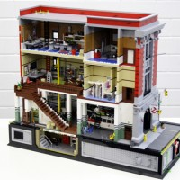 Ghostbusters HQ in LEGO